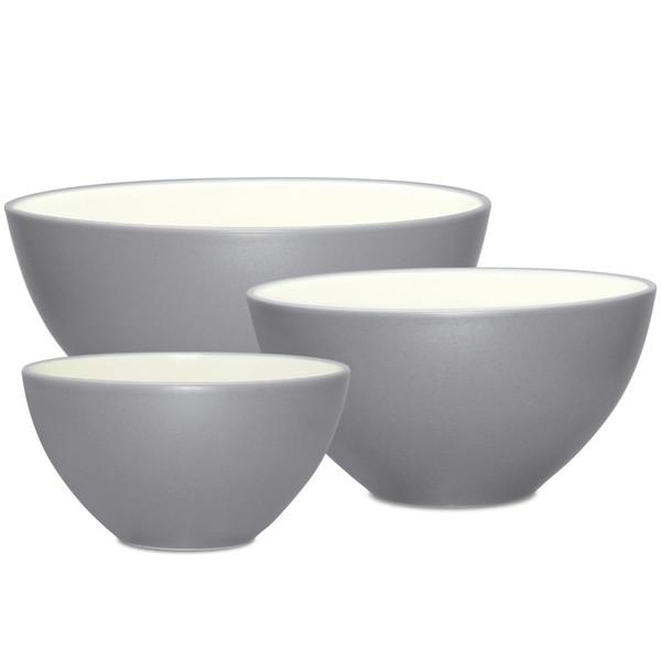 """Noritake Stoneware 7-1/2"""" Curve Cereal/Soup Bowl, 25 Ounce 8045-500CV"""