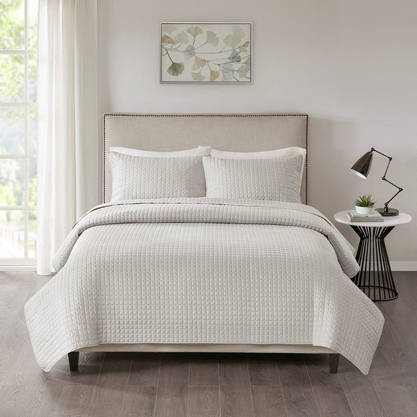 510 Design Otto 3 Piece Reversible Coverlet Set - King/Cal King 5DS13-0025