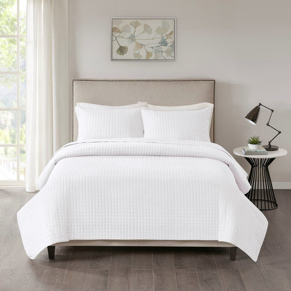 510 Design Otto 3 Piece Reversible Coverlet Set - King/Cal King 5DS13-0029