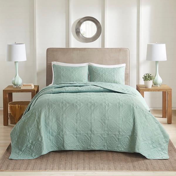 510 Design Oakley 3 Piece Reversible Bedspread Set - Full/Queen 5DS13-0170