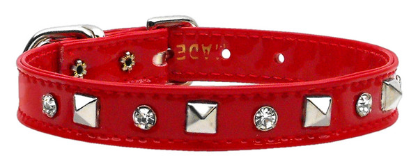 Patent Crystal And Pyramid Collars Red 10 84-20 10RD By Mirage