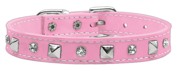 Patent Crystal And Pyramid Collars Pink 14 84-20 14PK By Mirage