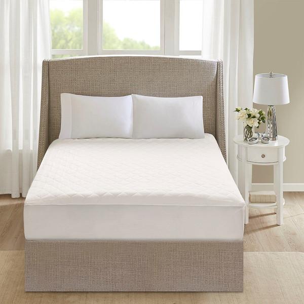 Beautyrest Cotton Cotton Deep Pocket Heated Mattress Pad-20 Heat Settings - Cal King BR55-0902