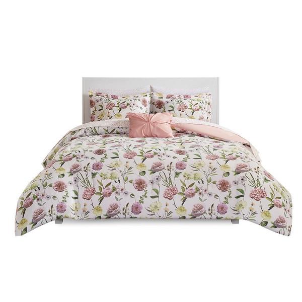 Intelligent Design Ashley Comforter And Sheet Set - Twin Xl ID10-1689
