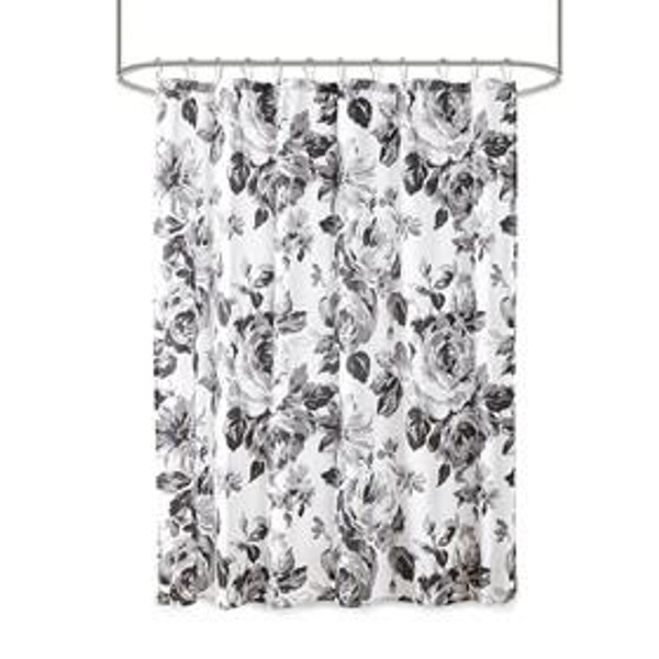 Intelligent Design Dorsey 100% Polyester Printed Shower Curtain ID70-1805 By Olliix