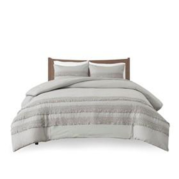Madison Park Amaya 100% Cotton Seersucker Comforter Set MP10-6659 By Olliix