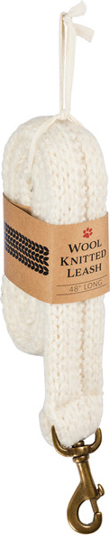 Dog Leash - Cream Knitted - Set Of 4 100386 By Primitives By Kathy