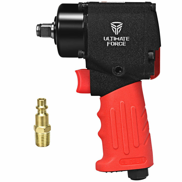 "1/2"" Mini Air Impact Wrench Pneumatic Driver With Hammers TL35228"
