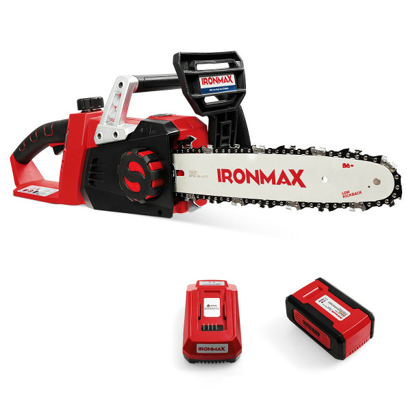 12-Inch 40V Cordless Chainsaw With Lithium-Ion Battery ET1384US
