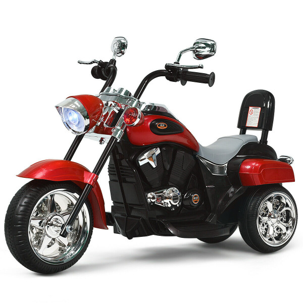 6V 3 Wheel Kids Motorcycle-Red TY327686RE