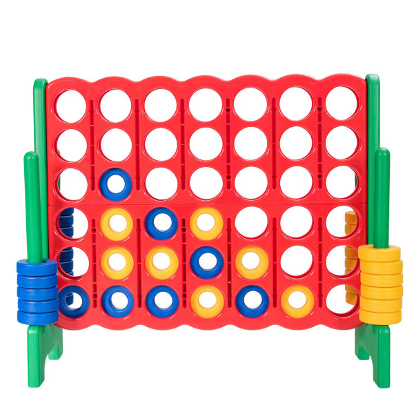 Jumbo 4-To-Score 4 In A Row Giant Game Set-Green SP37158GN