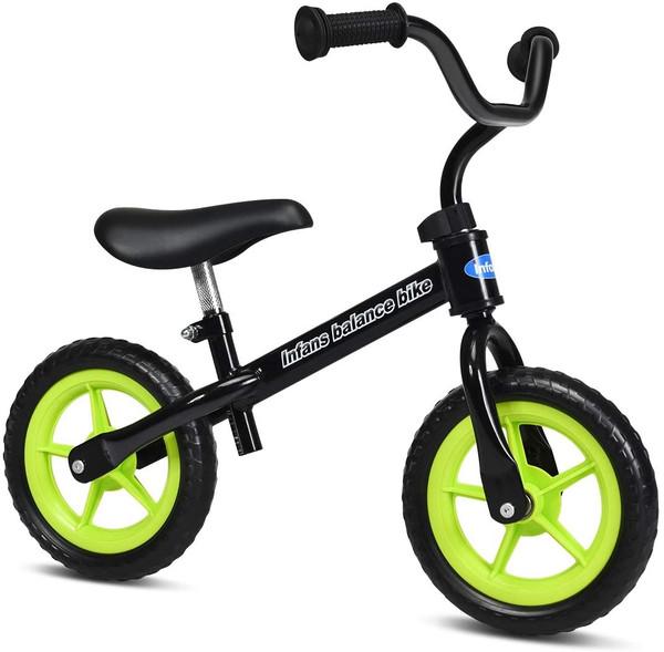 Adjustable Toddler Running Balance Bike With Non-Slip Handle-Black TY326369BK
