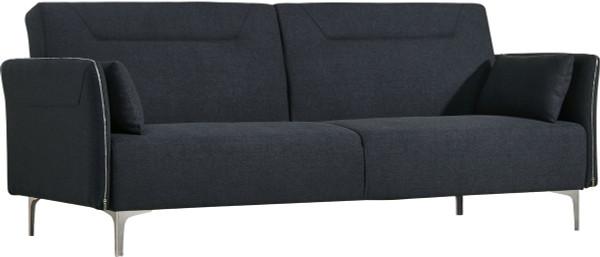 Divani Casa Davenport Mid-Century Modern Dark Grey Fabric Sofa Bed VGMB-1365-DKGRY By VIG Furniture