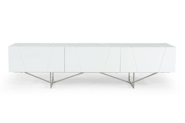 Modrest Chrysler Modern White Tv Stand VGVCTV8978-WHT By VIG Furniture