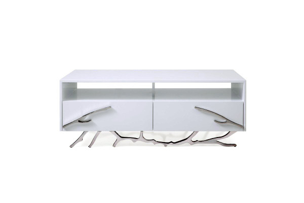 Modrest Legend Modern White Coffee Table VGVCCT8111-WHT By VIG Furniture