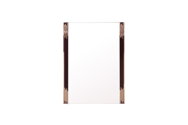 Modrest Token Modern Black & Gold Mirror VGVCJ815-M By VIG Furniture