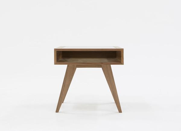 Modrest Dublin Modern Walnut End Table VGBBVIG141101B-DUB By VIG Furniture