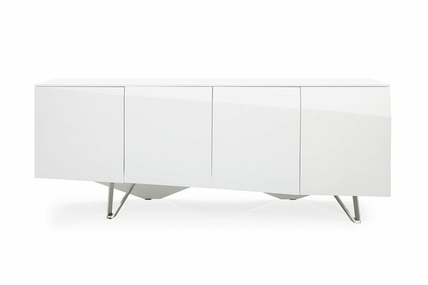 Modrest Columbia Modern White Buffet VGVCG117-WHT By VIG Furniture
