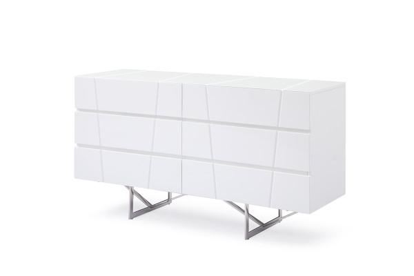 Modrest Chrysler Modern White Dresser VGVCJ8978-D-WHT By VIG Furniture