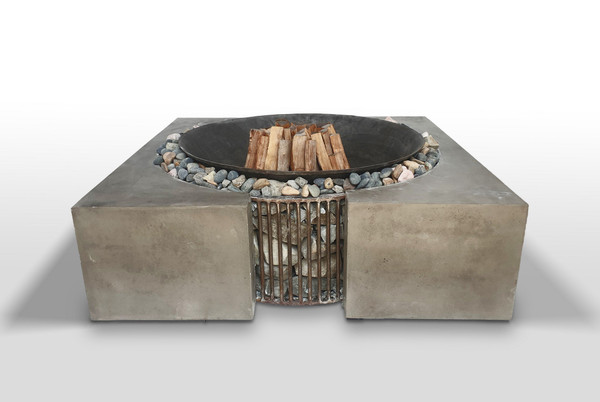 Renava Dotsero - Outdoor Concrete Fire Pit VGGR701100 By VIG Furniture