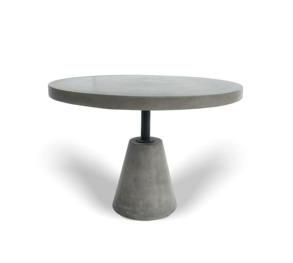 Modrest Lenado - Modern Grey Concrete End Table VGGR614450 By VIG Furniture