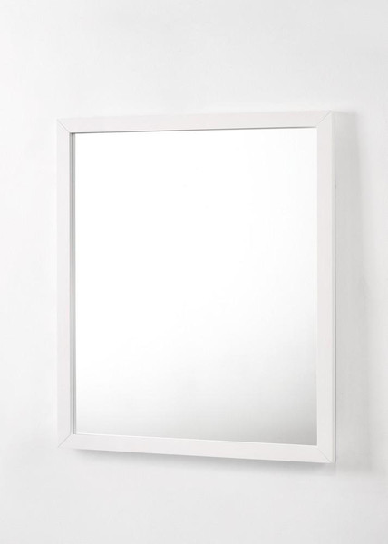 Modrest Bryan - Modern White Mirror VGMABR-82-WHT-MIR By VIG Furniture