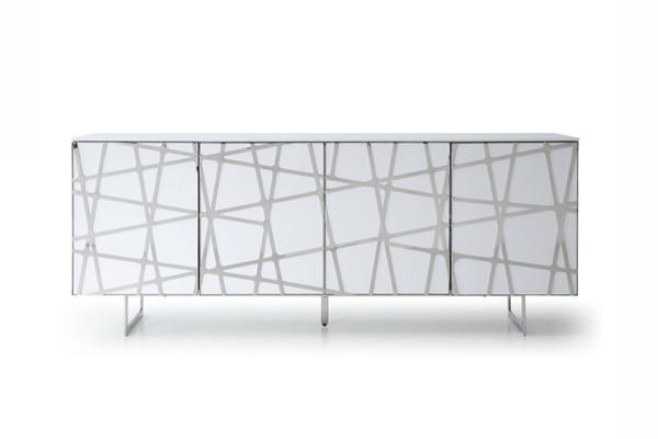 Modrest Kilson - Modern White Buffet VGVCG1819-WHT By VIG Furniture
