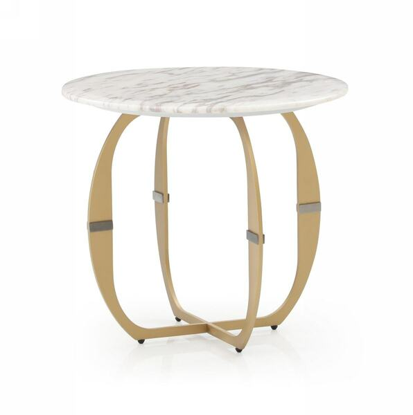 Modrest Haven - Modern Marble End Table VGVCET1916 By VIG Furniture