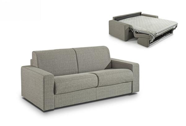 Modrest Made In Italy Urrita - Modern Gray Fabric Sofa Bed W/ Full Size Mattress VGACURRITA-F-GRY By VIG Furniture