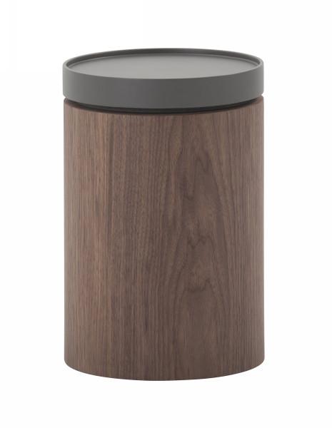Modrest Bascom- Modern Grey And Walnut End Table VGDWJ5825 By VIG Furniture