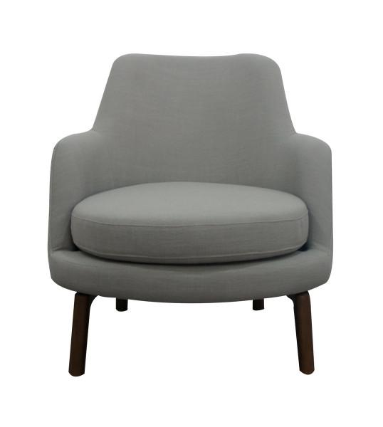 Modrest Metzler - Modern Grey Fabric Accent Chair VGUIMY465-GREY By VIG Furniture