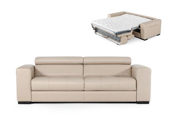 Coronelli Collezioni Icon - Modern Italian Leather Sofa Bed VGCCICON By VIG Furniture