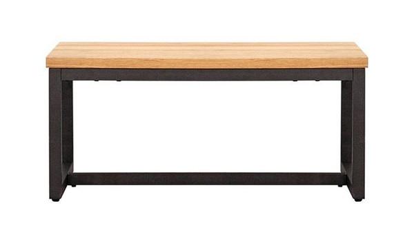 Modrest Fagan - Rustic Oak End Table VGEDMD206001 By VIG Furniture