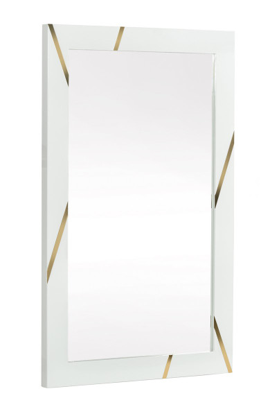 Modrest Nixa - Modern White & Gold Mirror VGVCJ1909-MIR By VIG Furniture
