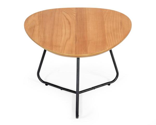 Modrest Eudora - Industrial Oak Short End Table VGEDTR254401 By VIG Furniture