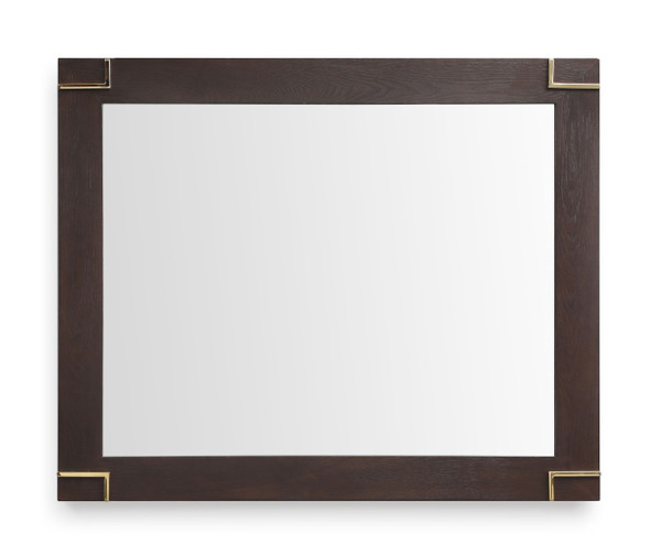 Modrest Moontide - Modern Smoked Ash & Gold Mirror VGVCJ1922M By VIG Furniture