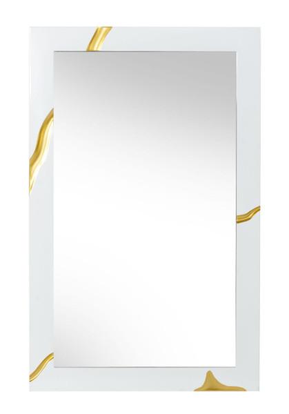 Modrest Aspen Modern White Mirror VGVCJ1801-WHT-MIR By VIG Furniture