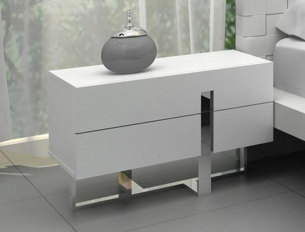 Modrest Voco - Modern White Bedroom Nightstand By VIG Furniture