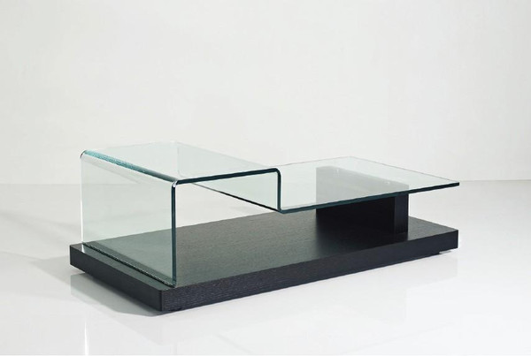 Modrest Slope Modern Glass Coffee Table - VGHB189D By VIG Furniture