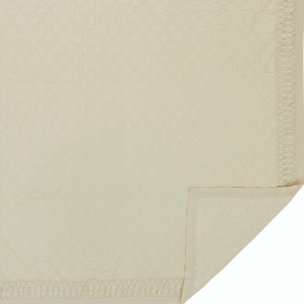 VHC Adelia Creme Twin Quilt 68Wx86L 29171