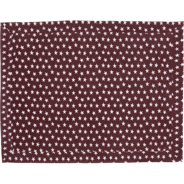 VHC Multi Star Red Table Cloth 60X80 16084