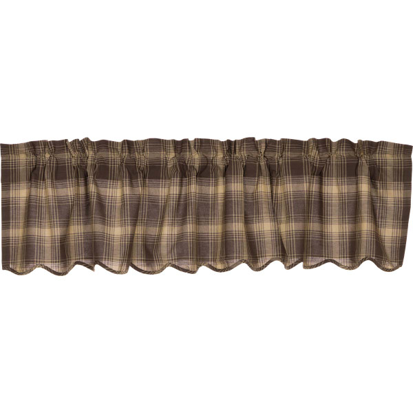 VHC Dawson Star Scalloped Valance 16X72 29420