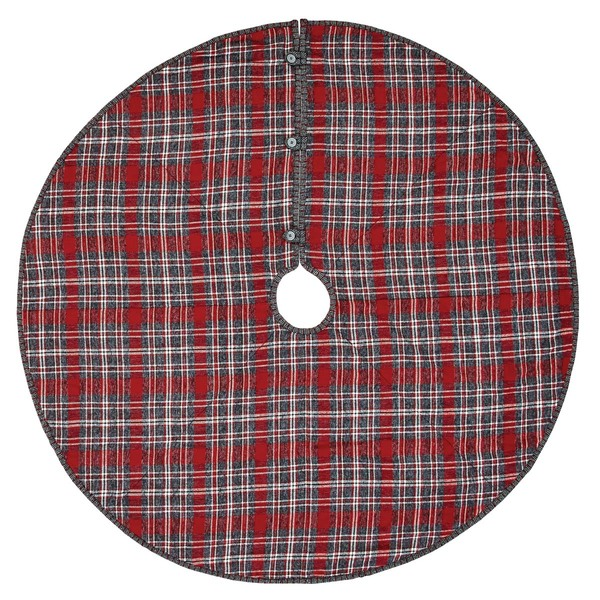 VHC Anderson Plaid Tree Skirt 48 32220