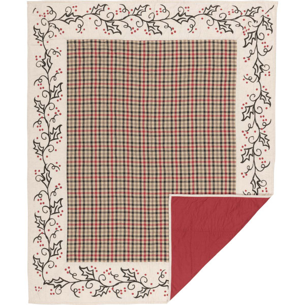 VHC Hollis Quilted Throw 60X50 44674