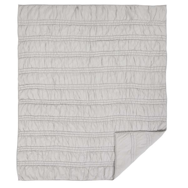 VHC Natasha Chateau Grey Twin Set; Quilt 68Wx86L-1 Sham 21X27 28958