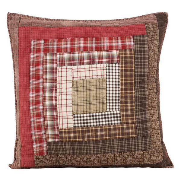 VHC Tacoma Quilted Euro Sham 26X26 - 8204