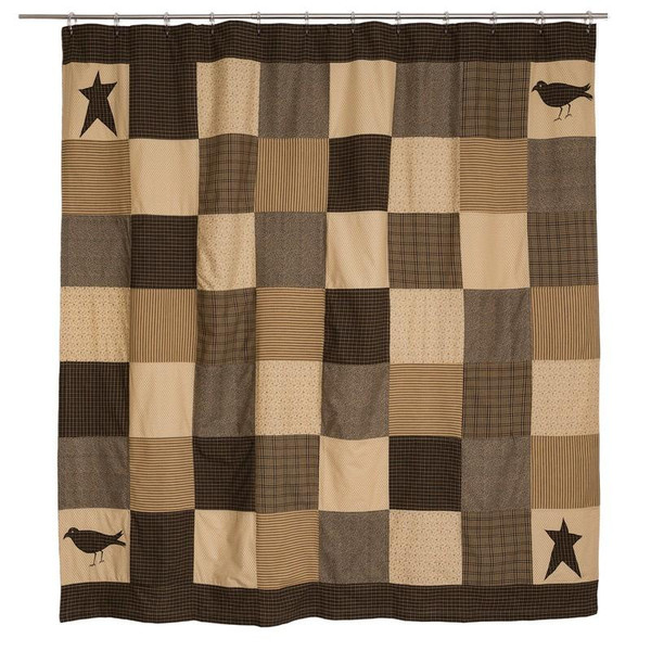 VHC Kettle Grove Shower Curtain 72X72 - 7188