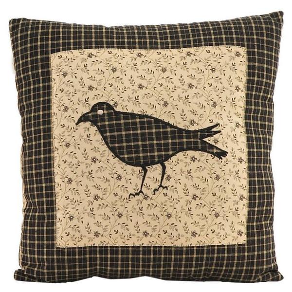 VHC Kettle Grove Pillow Crow 10X10 - 7164