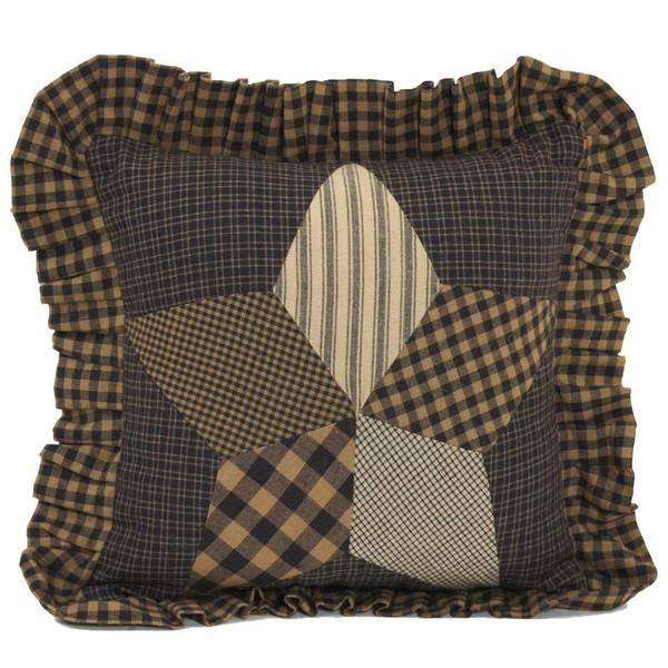 VHC Farmhouse Star Pillow 10X10 - 6694