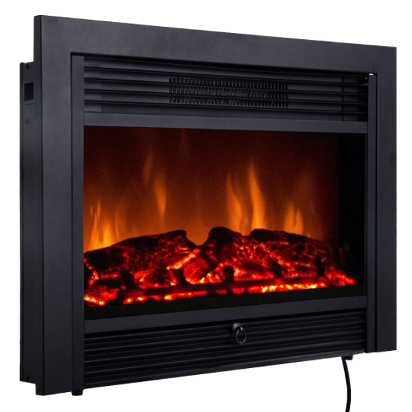 """EP24718US 28.5"""" Electric Embedded Insert Heater Fireplace"""